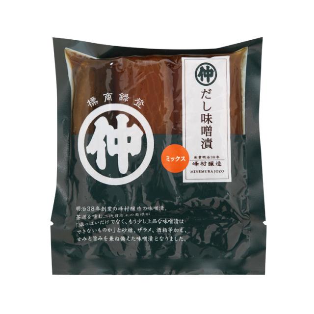 【無添加・低塩】だし味噌漬ミックス180g(大根・きゅうり)