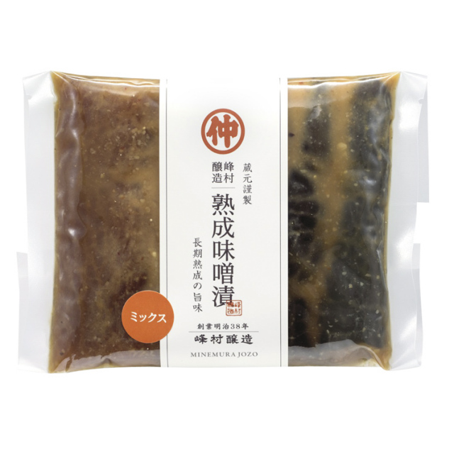 熟成味噌漬ミックス180g(大根・なす・きゅうり)