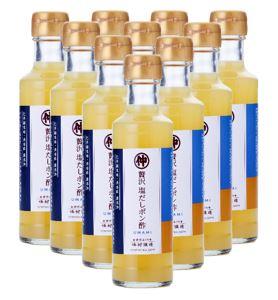 【お徳用・送料無料】贅沢塩だしポン酢10本セット 各200ml