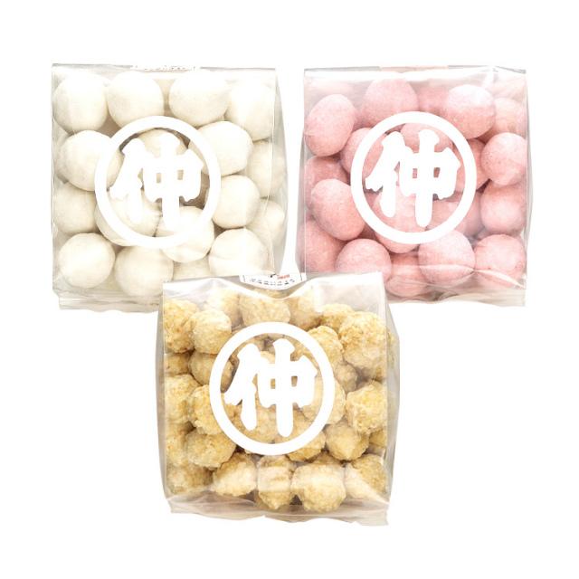 《豆菓子セット》ル・レクチェ/越後味噌/越後姫苺豆