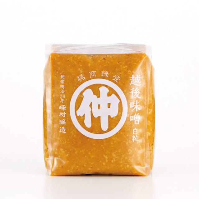 マルナカ 越後味噌 白粒 1kg