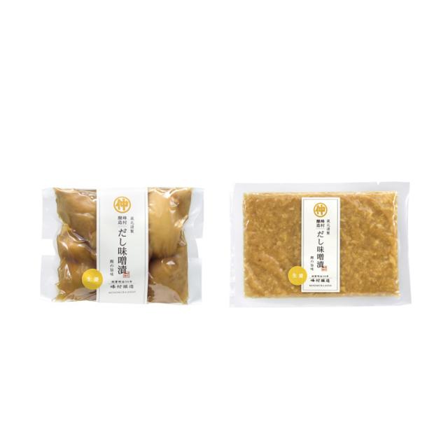 だし味噌漬生姜セット