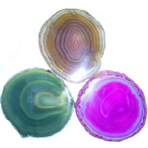 メノウコースター3色