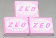 <除染石鹸>【ゼオライト含有石鹸ZEO】100グラム×3