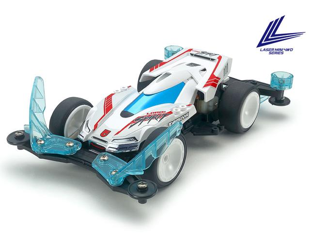 タミヤ レーザーミニ四駆 ロードスピリット (VZシャーシ)