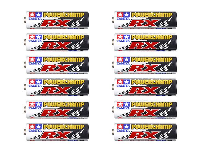 T55120 タミヤ パワーチャンプRX (12本)