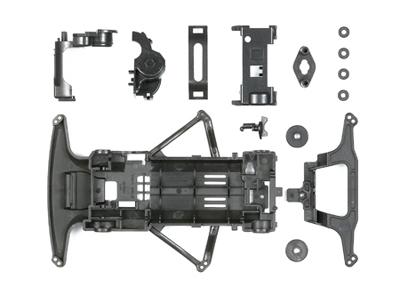 T95239 タミヤ カーボン強化スーパーFMシャーシセット