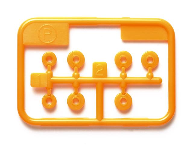 T95560 タミヤ 低摩擦プラベアリングセット (オレンジ)