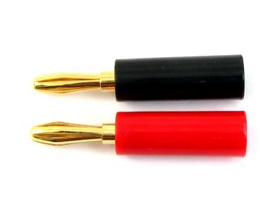 EG2815-070 イーグル SP バナナプラグ オス 2pcs. (赤・黒)金メッキ済