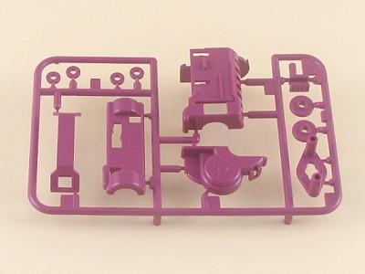 T0001628 タミヤ スーパー1シャーシ用 Aパーツ(ピンク)