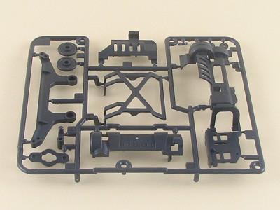T0001937 タミヤ Xシャーシ用 Aパーツ(グレー)