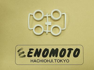 T10006787-000 タミヤ アフターパーツ 小径ナロータイヤ(ホワイト)