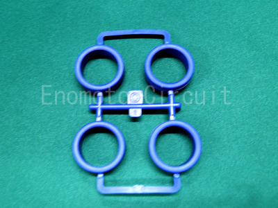 ロープロファイルハードタイヤ(ブルー)