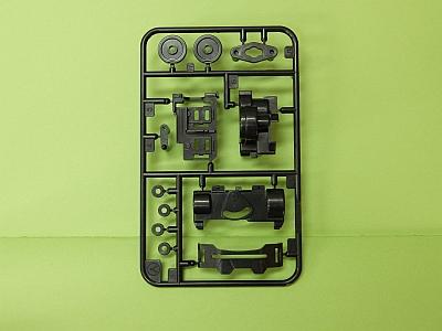 T10007365 タミヤ アフターパーツ   VSシャーシ用 Aパーツ(ガンメタル・B)