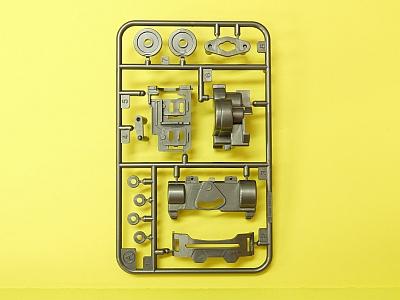 T10007416 タミヤ アフターパーツ   VSシャーシ用 Aパーツ(ガンメタル)