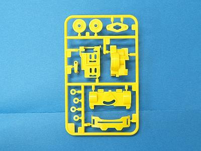 T10009619 タミヤ アフターパーツ   VSシャーシ用 Aパーツ(黄)