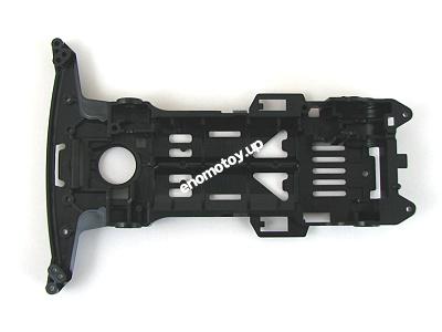 T10331229 タミヤ アフターパーツ  スーパーII シャーシ(黒)