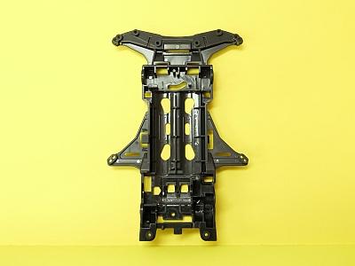 T31243 タミヤアフターパーツ VSシャーシ(ディープガンメタル)
