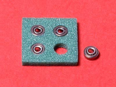 T15111 タミヤ 丸穴ボールベアリング4個セット