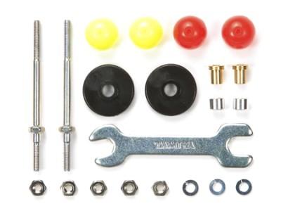 T15408 タミヤ ロングスタビ低摩擦プラローラー(13mm)セット