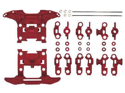 T15411 タミヤ N-04、T-04強化ユニット(レッド)