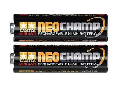 T15420 タミヤ ミニ四駆 単3形ニッケル水素電池 ネオチャンプ(2本)