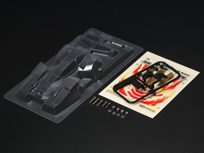 T15480 タミヤ ネオトライダガーZMC クリヤーボディセット(ポリカ)