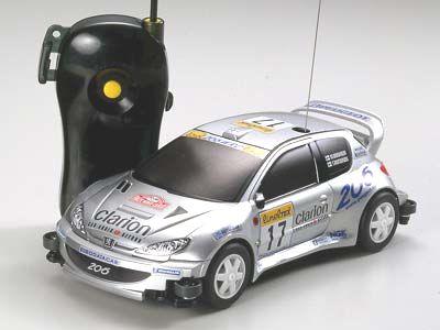 T19702 タミヤ プジョー206 WRC