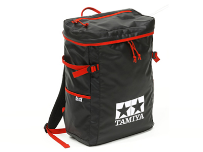 T67233 タミヤ タミヤ ピットイン バックパック(黒・赤)