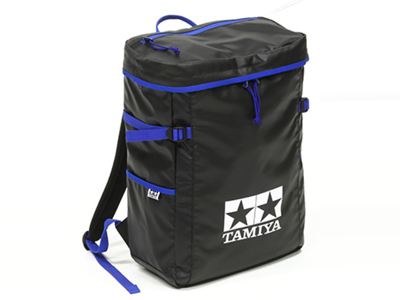 T67234 タミヤ タミヤ ピットイン バックパック(黒・青)