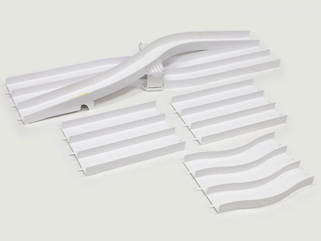 T69579 タミヤ ミニ四駆 ジャパンカップ ジュニアサーキット レーンチェンジ拡張セット (白)