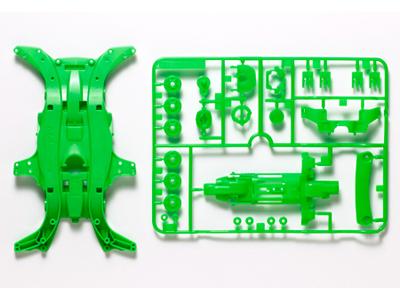 T95052 タミヤ MA蛍光カラーシャーシセット(グリーン)