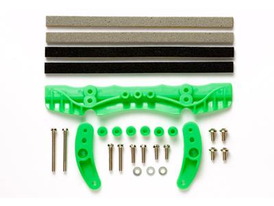 T95053 タミヤ ARシャーシ ブレーキセット(蛍光グリーン)