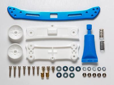 T95057 タミヤ リヤワイドスライドダンパー(ブルー)