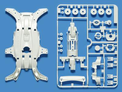 T95283  タミヤ MA強化シャーシセット (ホワイト)