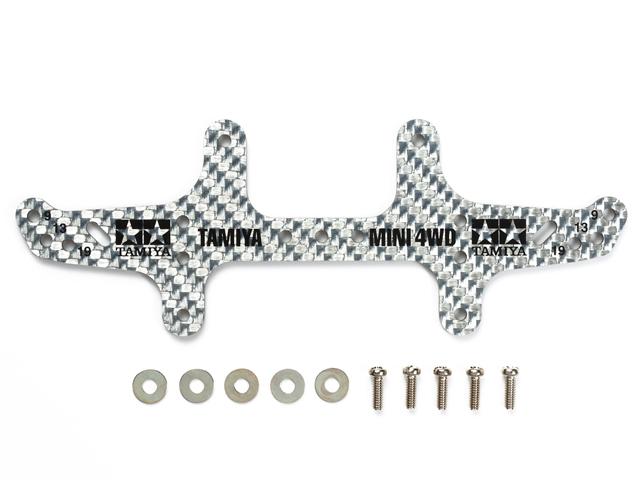 T95306 タミヤ HG カーボンマルチワイドリヤステー(1.5mm/シルバー)