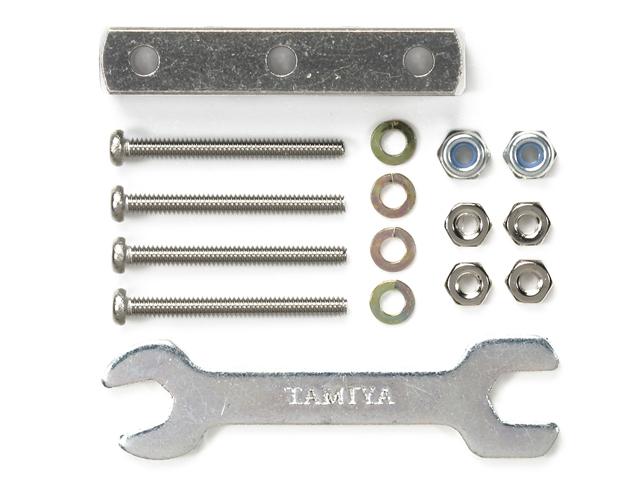 T95345 タミヤ マスダンパー スクエア(6×6×32mm・シルバー)