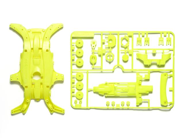 T95495 タミヤ MA 蛍光カラーシャーシセット(イエロー)