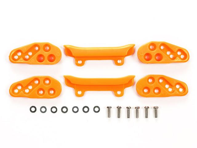 T95559 タミヤ フロントアンダーガード (オレンジ)
