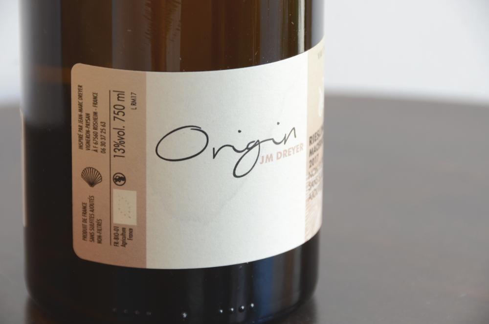 ジャン・マルク・ドレイヤー/アルザス・リースリング オリジン17
