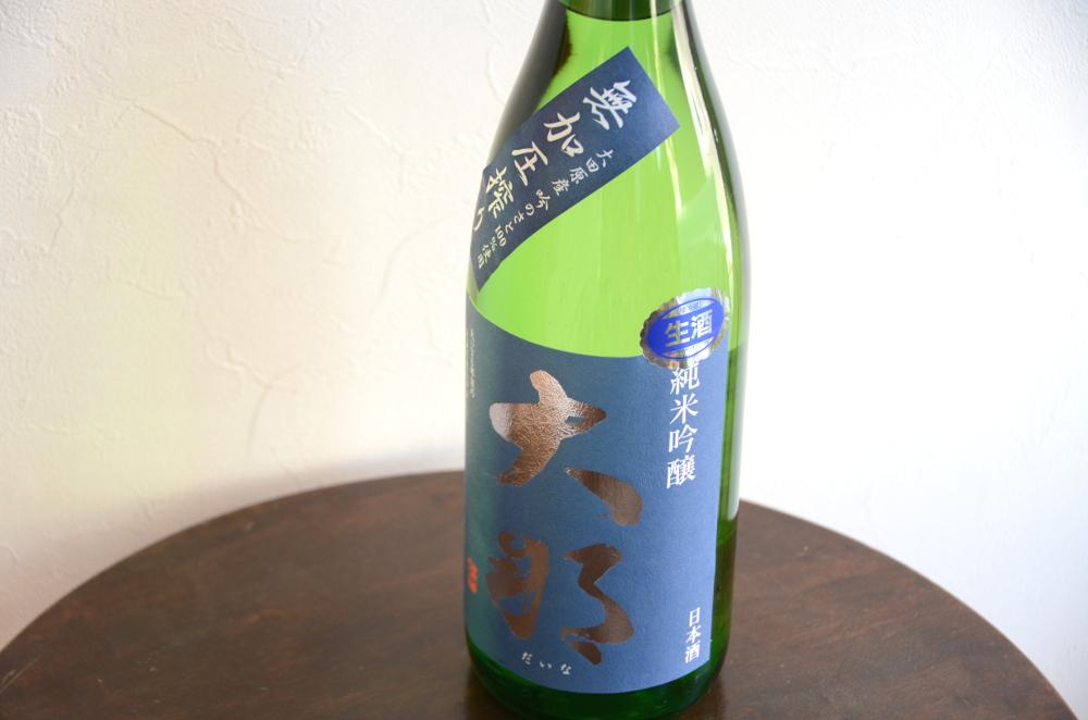 大那(だいな)純米吟醸無加圧搾り生