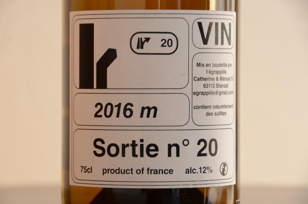 レグラッピーユ / ソルティ・ニュメロ ヴァン 2016 L`egrappille Sortie n°20 2016