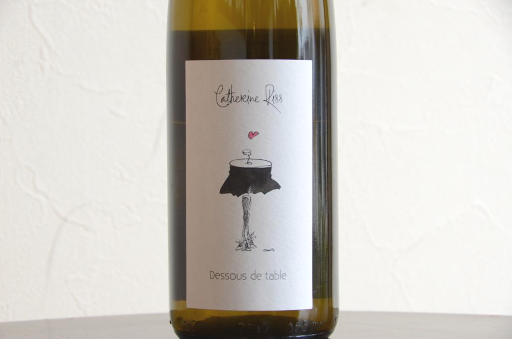 カトリーヌ・リス / アルザス ドゥス・ド・ターブル16 Alsace Blanc Dessous de Table