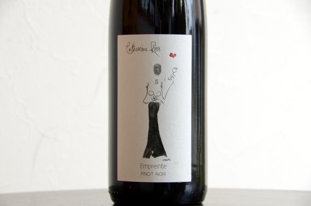 カトリーヌ・リス / アルザス・ピノノワール アンプラント18  Alsace Pinot Noir Empreinte