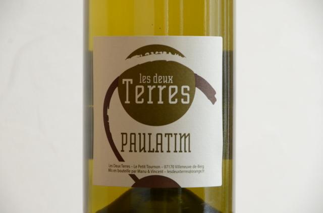 ドメーヌ・レ・ドゥーテール / ポラティム18 Les Deux Terres Paulatim Blanc