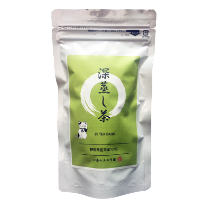 深蒸し茶ティーバッグ(1.8g×25個)