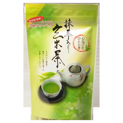 抹茶入り玄米茶ティーバッグ(4g×20袋)