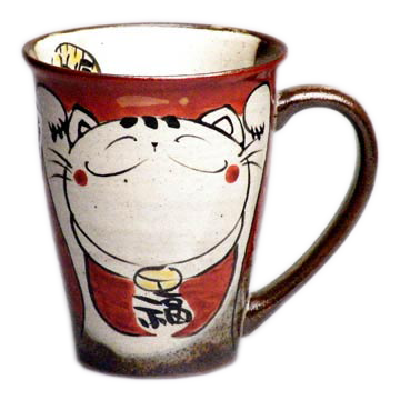 マグカップ 笑い猫