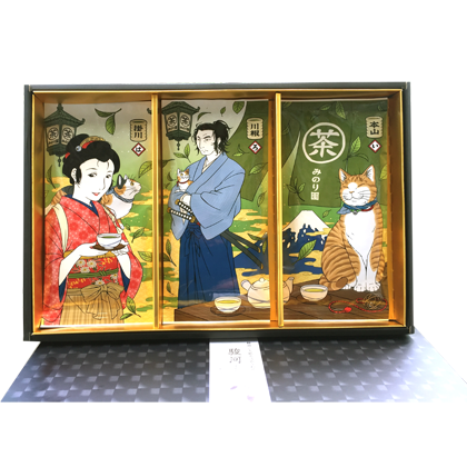 猫茶屋《駿河》静岡茶ギフトセット【送料無料】