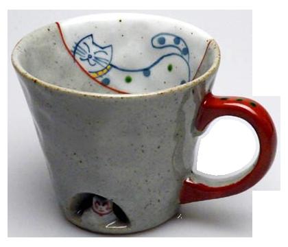 マグカップ かくれんぼ猫